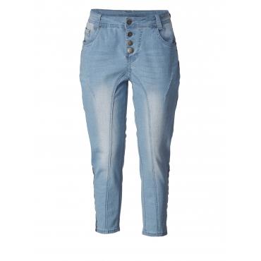 7/8 Slim Fit Jeans Adia Hellblau