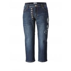 7/8 Slim Fit Jeans Angel of Style dark blue