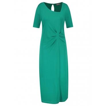 Abendkleid mit Raffung Samoon Emerald