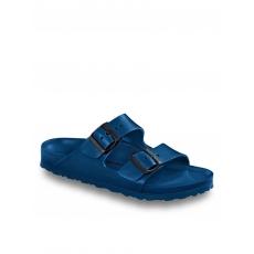 Arizona Pantolette Birkenstock Blau
