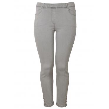 Bequeme Jeans im 7/8-Stil Via Appia Due grau