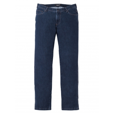 Bi-Stretch Jeans Men Plus Black