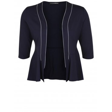 Blazer mit Zipper-Details Doris Streich weiß