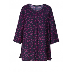Bluse in Oversize-Form Sara Lindholm marine/cyclam