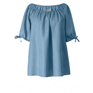 Bluse Janet & Joyce blue bleached