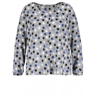 Bluse mit Dots Samoon Silver Fox gemustert