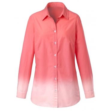Bluse mit Farbverlauf Janet & Joyce apricot/offwhite