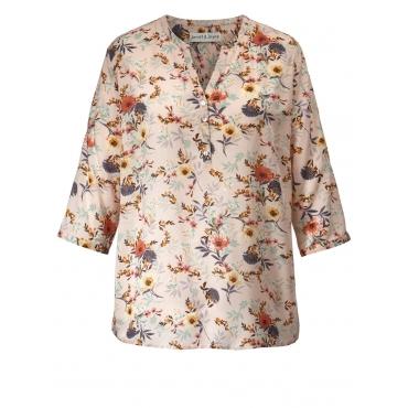 Bluse mit floralem Print Janet & Joyce puder bedruckt