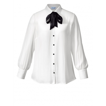 Bluse mit Schleife Angel of Style offwhite