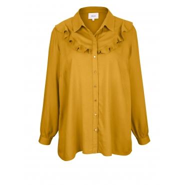 Bluse mit Volants Zizzi Gold