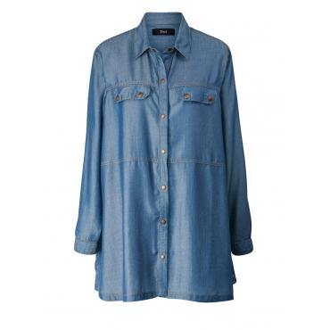 Bluse Zizzi blue denim