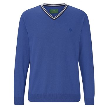 CHARLES COLBY Pullover JOYLIN CHARLES COLBY blau