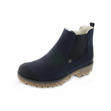 Chelsea Boots Rieker Blau