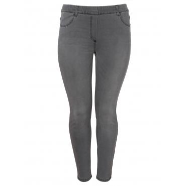 Coole Jeans im 4-Pocket-Stil Via Appia Due jeans grau