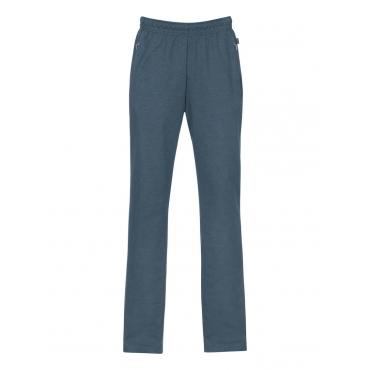 Damen Freizeithose aus Sweat-Qualität Trigema jeans-melange