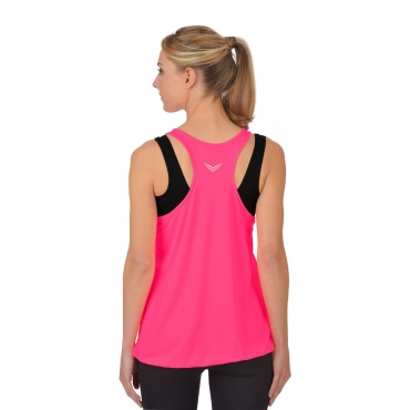 Damen Longshirt COOLMAX® Trigema power-pink