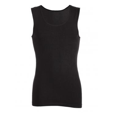 Damen Nahtloses Trägershirt Trigema schwarz