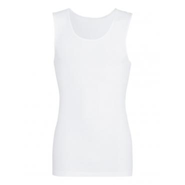 Damen Nahtloses Trägershirt Trigema weiss