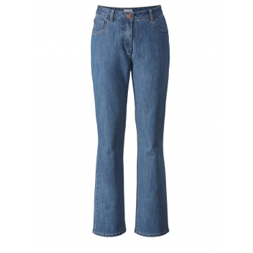Flare Cut Jeans High Waist Angel of Style blue bleached