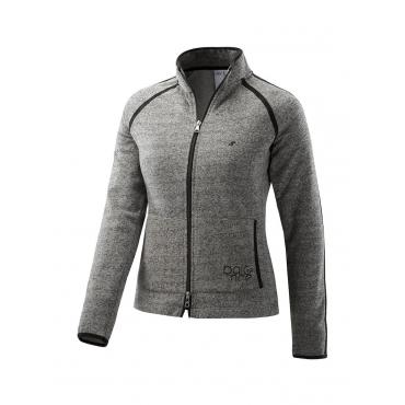 Freizeitjacke KARINA JOY sportswear carbon dark melange