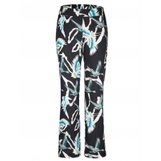 Hose mit Allover-Print Angel of Style gemustert