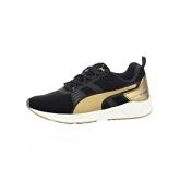 Ignite-Sneaker Puma weiß/goldfarben