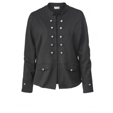 Jacke im Military Style Angel of Style schwarz