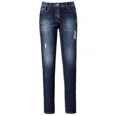 Jeans Carla Angel of Style darkblue destroyed