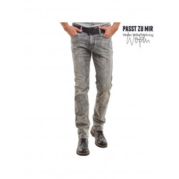 Jeans im Moonwash-Look Engbers Zementgrau