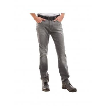Jeans in grau Engbers Zementgrau