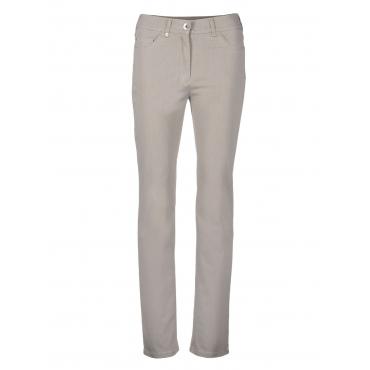 Jeans in Komfort-Passform Gerke grau