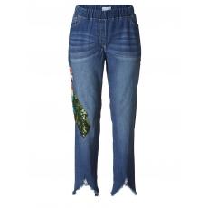 Jeans-Leggings knöchellang mit Pailletten Angel of Style dark blue
