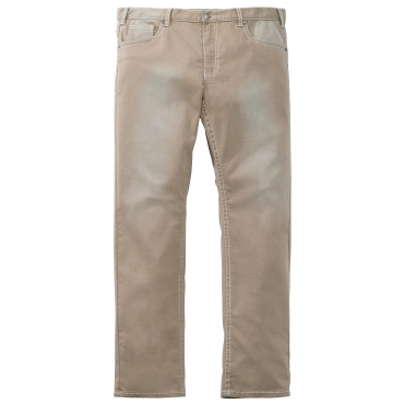 Jeans Men Plus Beige