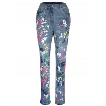Jeans MIAMODA Blau::Multicolor