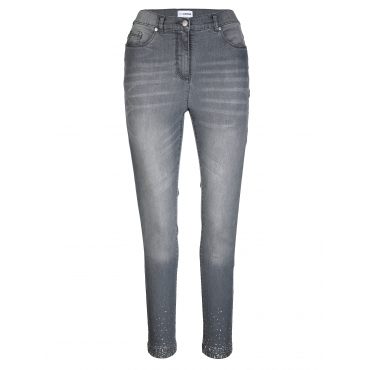 Jeans MIAMODA Blue bleached