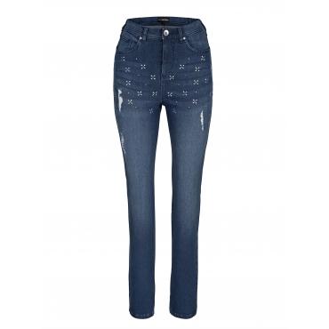 Jeans MIAMODA Denim::Blau