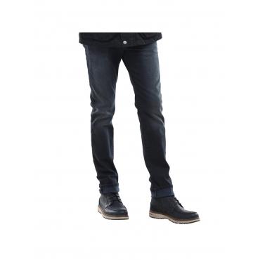 Jeans mit coolen Farbeffekten Engbers Saphirblau