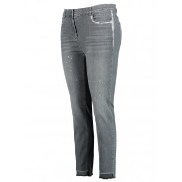 Jeans mit Metallic-Details Samoon Pavement Denim