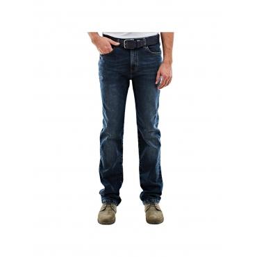 Jeans mit modischer Waschung Engbers Indigoblau