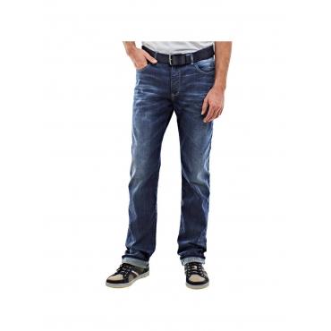 Jeans mit modischer Waschung Engbers Saphirblau