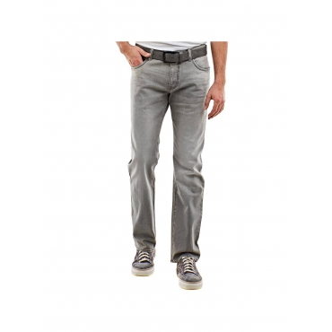 Jeans mit modischer Waschung Engbers Silbergrau