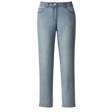 Jeans mit Strass-Steinen Sara Lindholm blue-stone