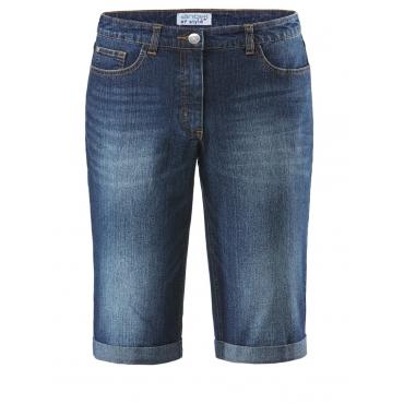 Jeans-Shorts mit Umschlag Angel of Style darkblue