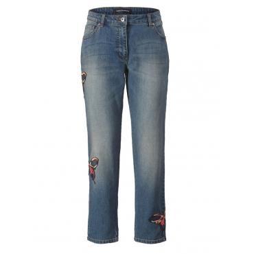 Jeans Slim Fit knöchellang Sara Lindholm blue-denim