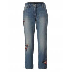 Jeans Slim Fit knöchellang Sara Lindholm blue-denim