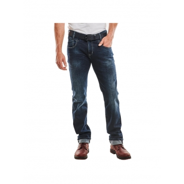 Jeans straight Engbers Indigoblau