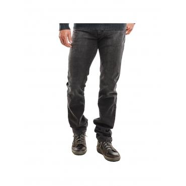 Jeans straight Engbers Schwarzbraun
