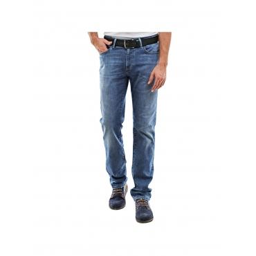 Jeans straight Engbers Taubenblau