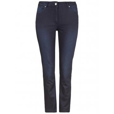 Jeans SUPER STRETCH DENIM Doris Streich schwarz