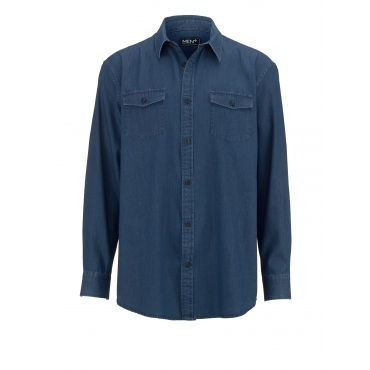 Jeanshemd Men Plus Blau